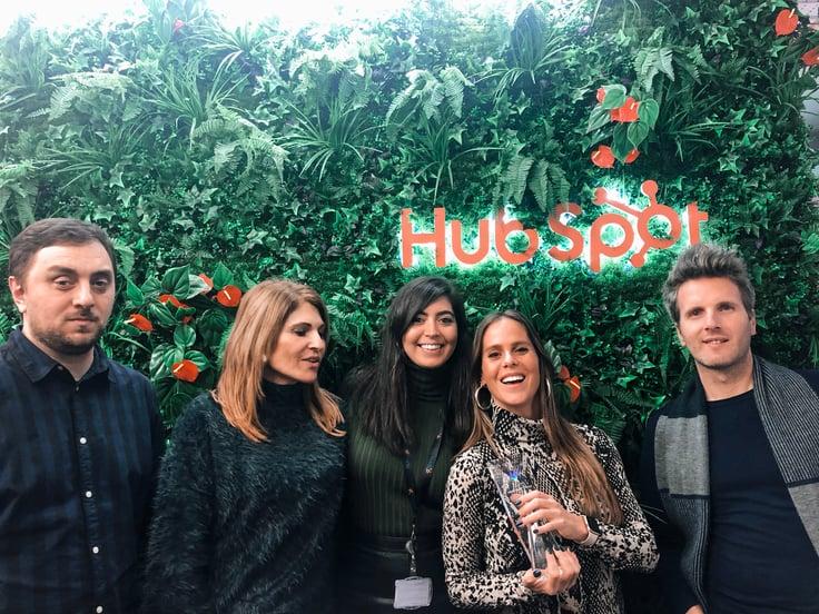 Chegámos a Parceiros Platina da HubSpot e fomos a Dublin comemorar