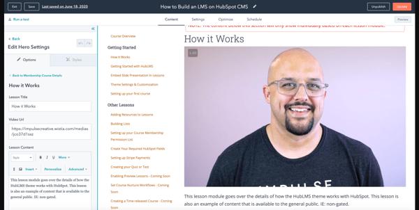 HubLMS - Marketplace HubSpot