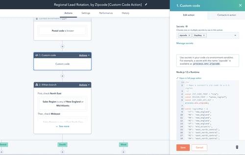 Workflows - Operations Hub