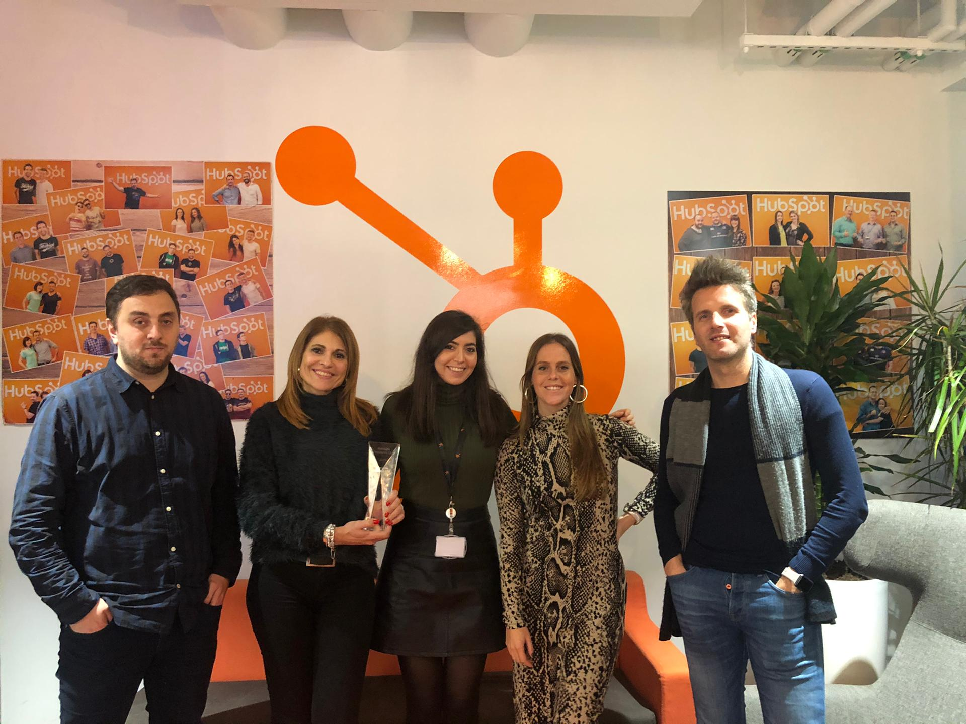 Equipa YouLead @ HubSpot Platinum Agency Partner Headquarters
